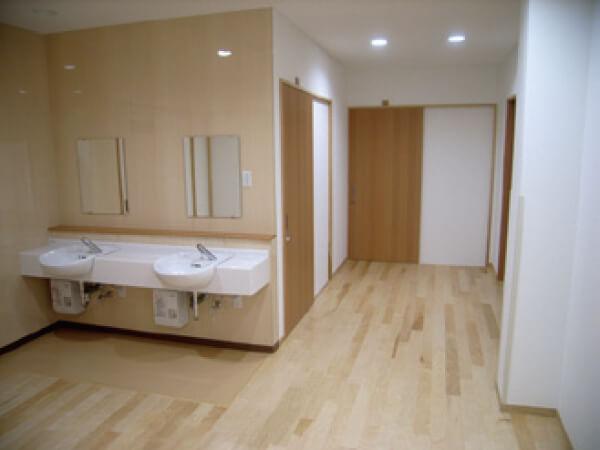 永島ホーム 洗面所