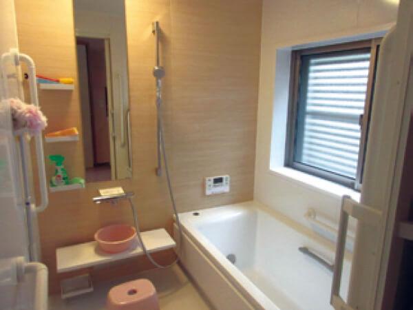 永島ホームⅡ 風呂場