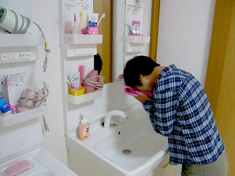 洗顔・歯磨き