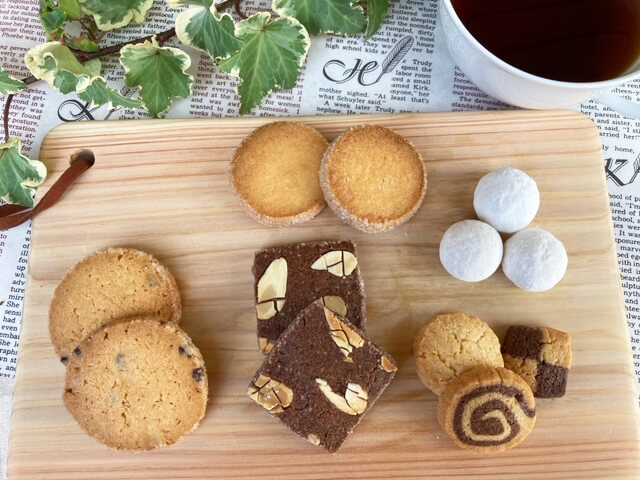 クッキー5種